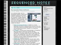 Sequenced Notes